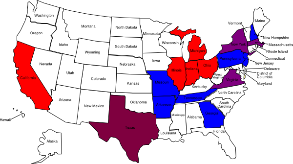 freeuse download Map clipart map united states. Us color with state.
