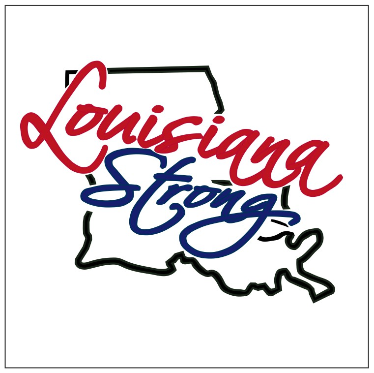 clip art Louisiana clipart strong. T v svg outline.