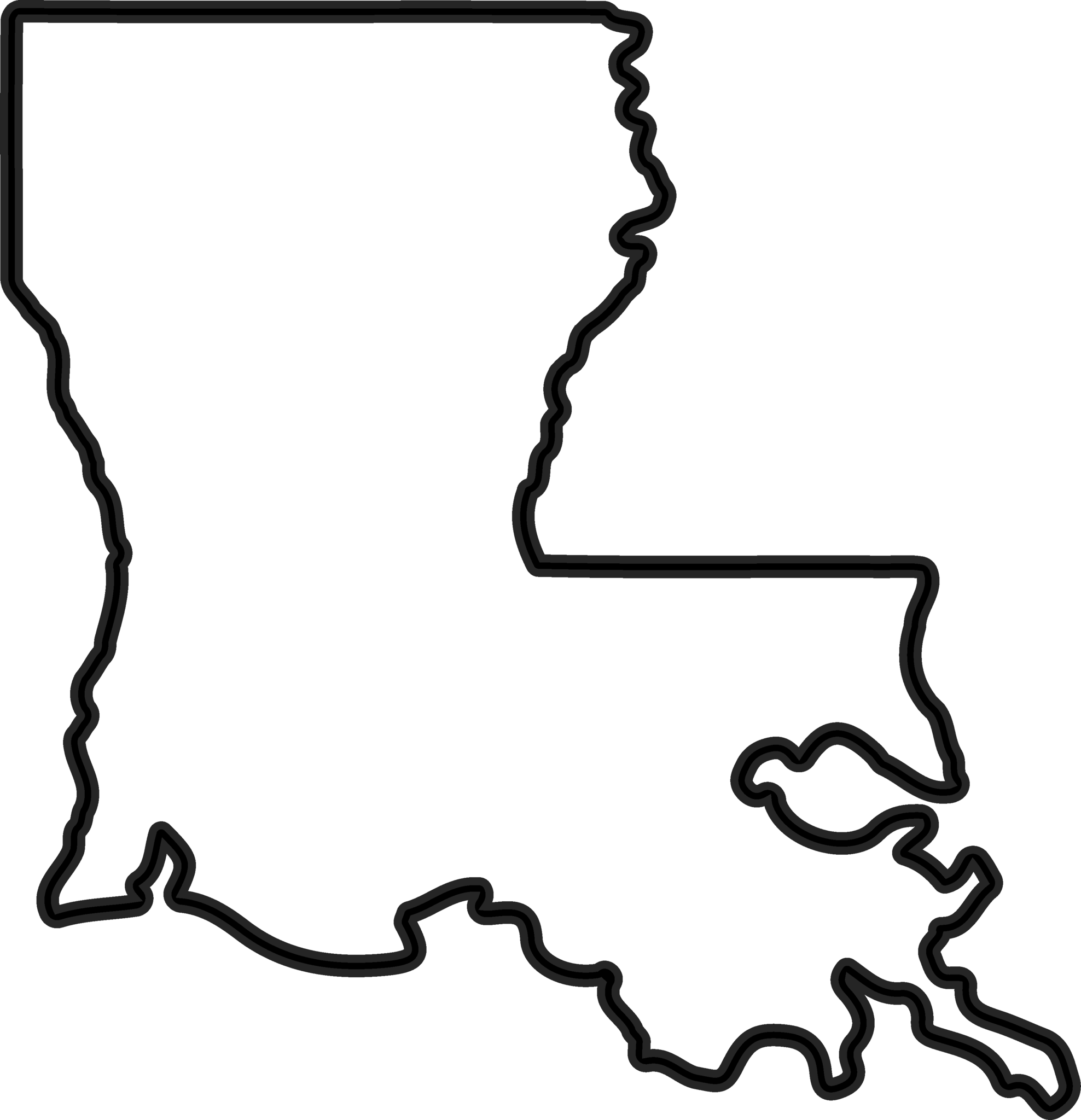 clip stock Line transparent free for. Louisiana clipart strong.
