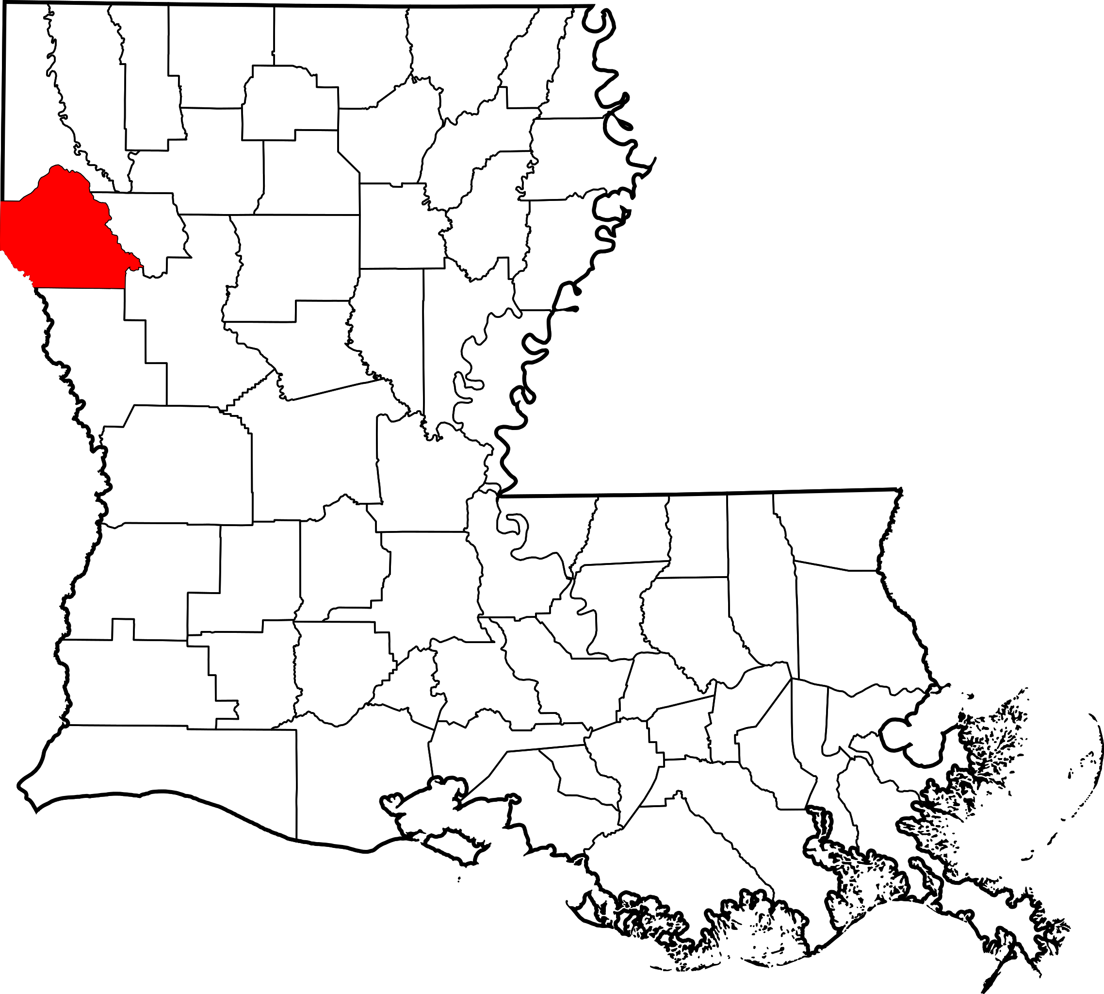 png transparent library File map of highlighting. Louisiana vector.