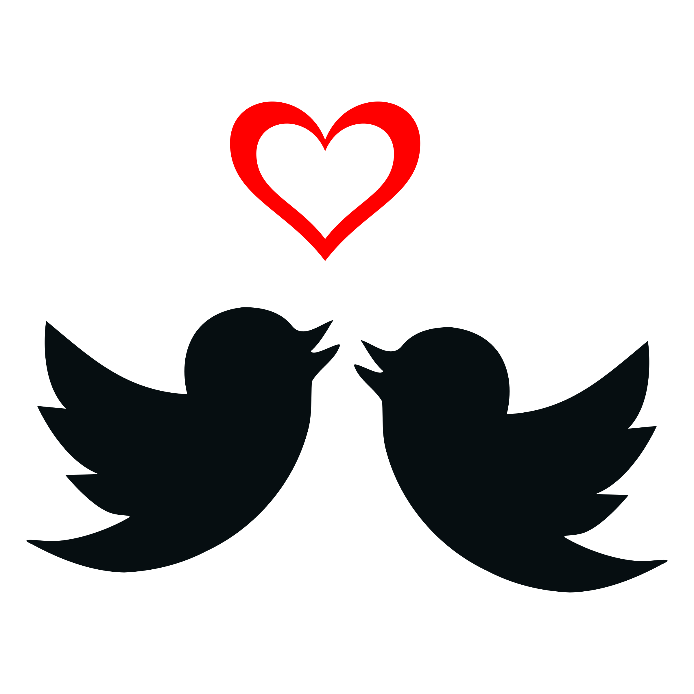 picture library download Silhouette Love Birds at GetDrawings