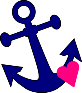 banner transparent stock Love clipart anchor. With heart clip art.