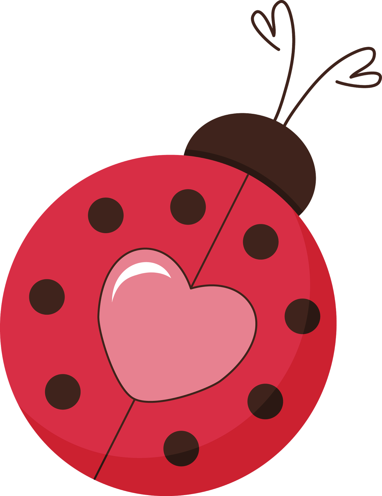 graphic royalty free stock Pin by peggie barker. Love clipart ladybug.
