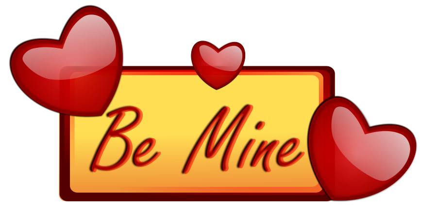 clip transparent library Be mine clip art. Love clipart vector.