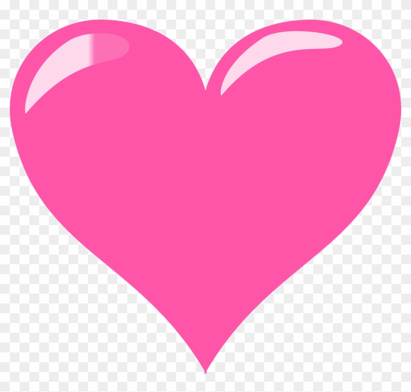 image transparent library Heart glossy clipart hd. Transparent pink love