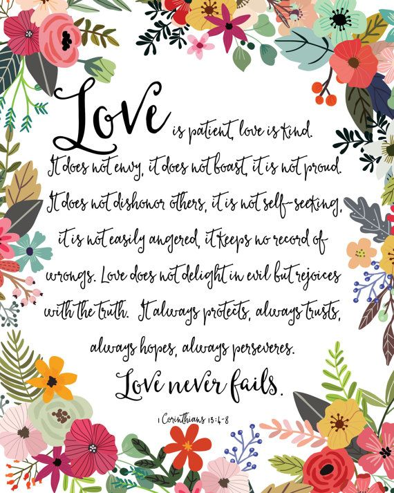 image transparent stock Love is patient love is kind clipart. Pin on colorful quotes