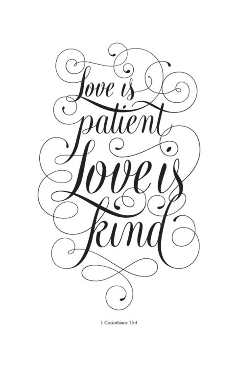 clip art library library  corinthians by cory. Love is patient love is kind clipart