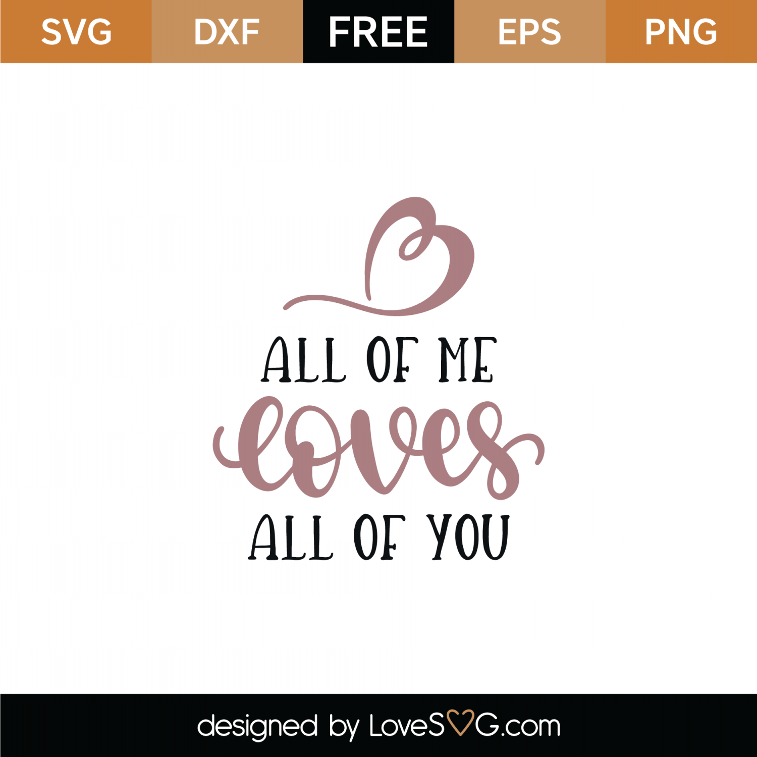 clip transparent library Loves svg. Free all of me
