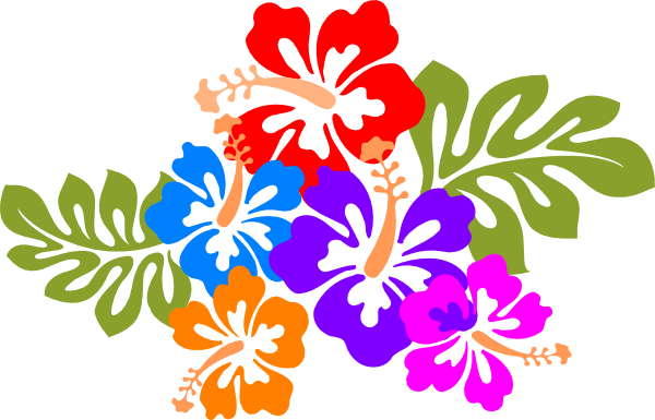 banner royalty free library Luau Clip Art Borders Free