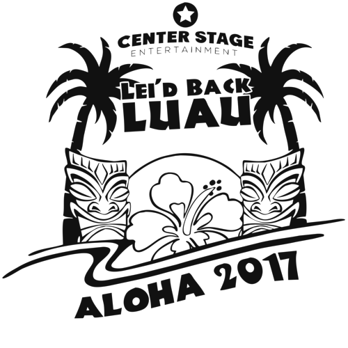 png freeuse stock Center stage welcomes you. Luau clipart black and white