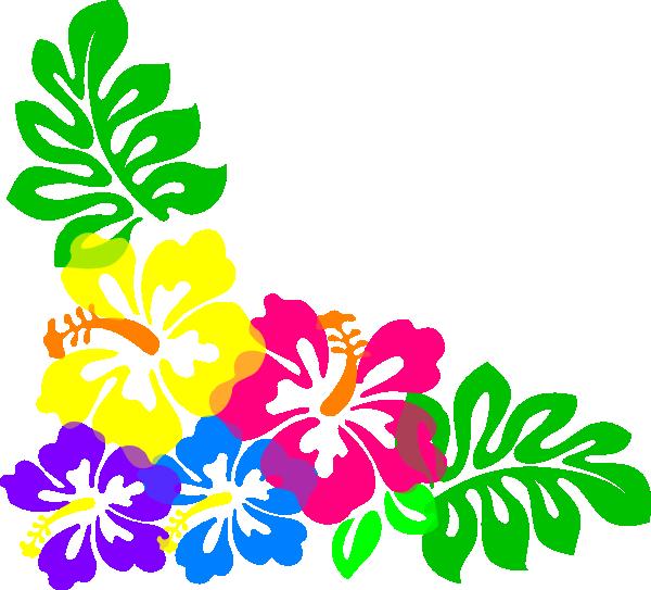 svg free Tiki clipart banner. Hibiscus clip art vector.