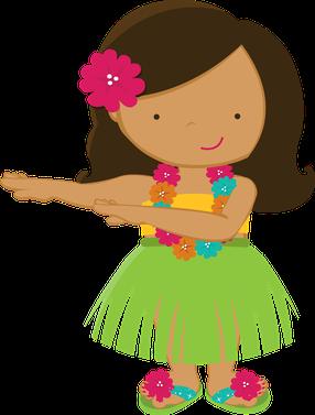 picture transparent download Luh happy minus com. Luau clipart hawaiian child.