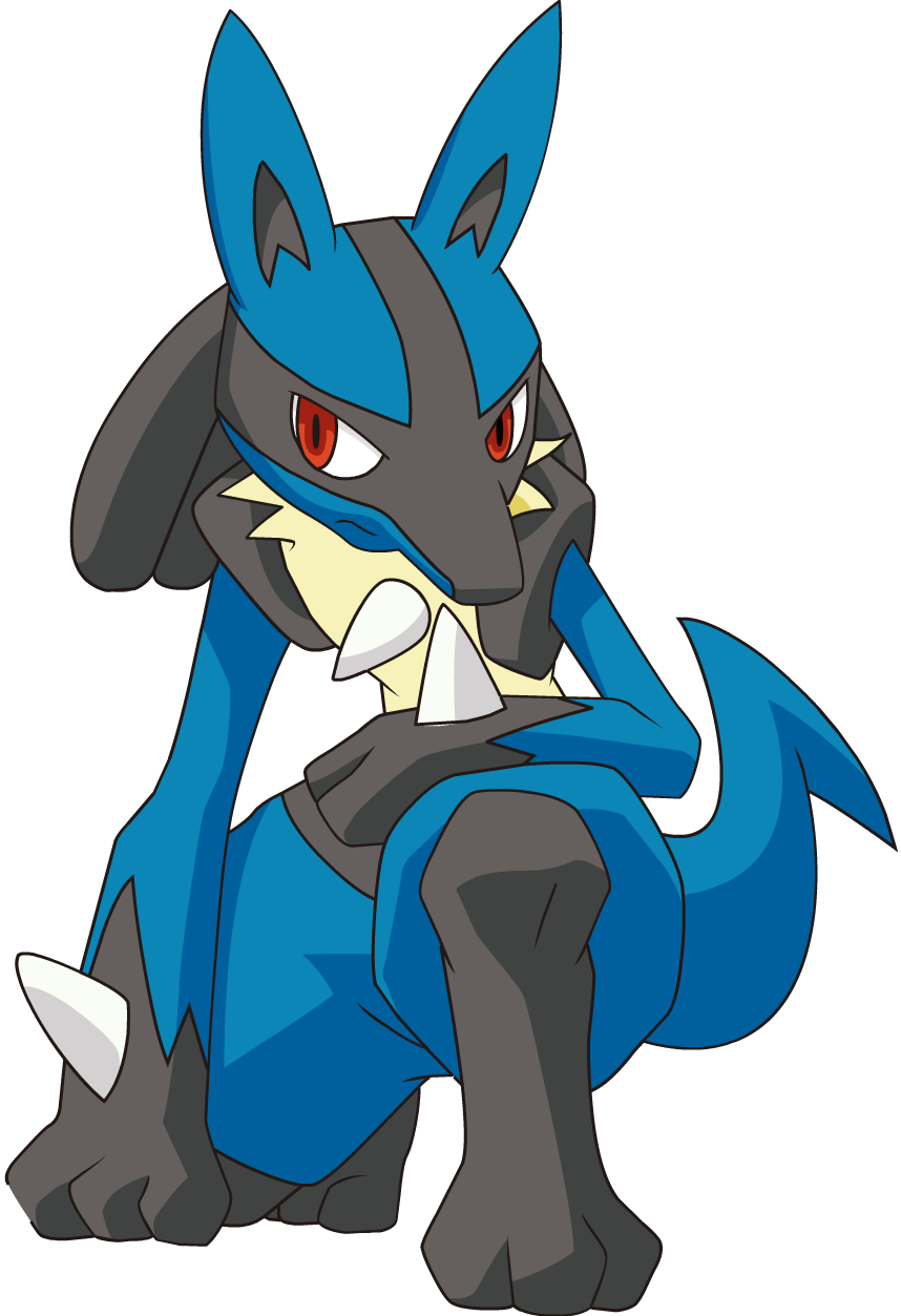graphic black and white library lucario transparent avatar #99178929