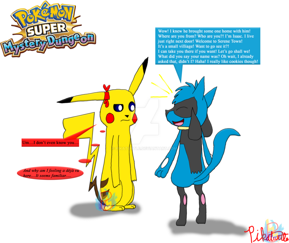 picture transparent stock Lucario transparent pokemon super mystery dungeon. Scene deja vu by