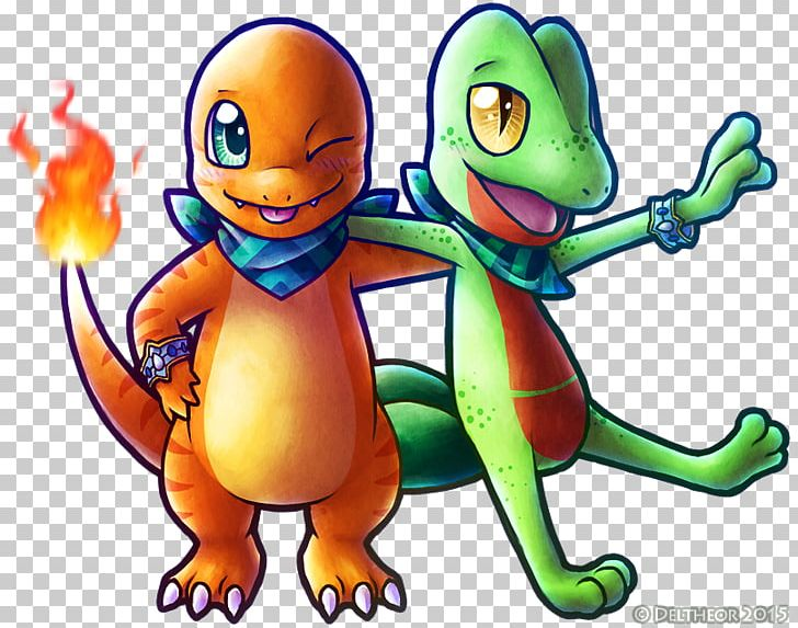 vector free Pok mon charmander treecko. Lucario transparent pokemon super mystery dungeon