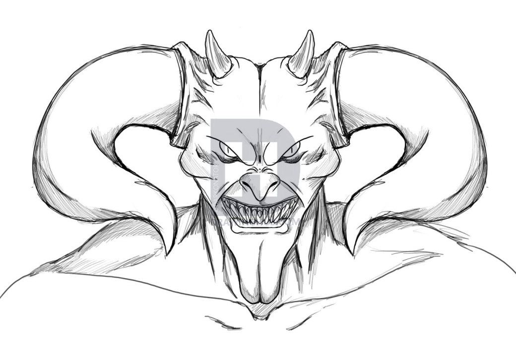 free download  accessible how to. Lucifer drawing devil