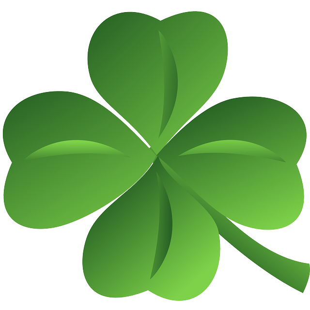 clipart royalty free stock Small shamrock free on. Luck clipart.