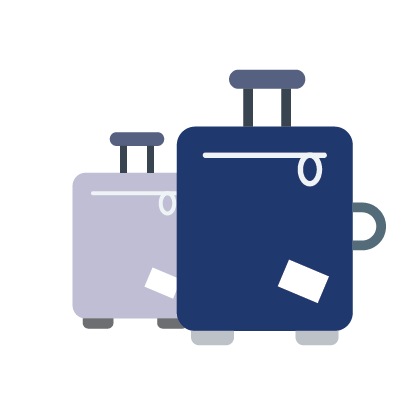 jpg freeuse library Driver your transfer service. Luggage clipart airport luggage.