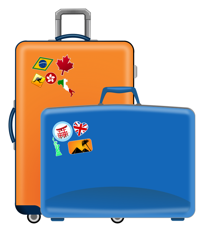 vector Luggage clipart baggage claim. Minnesota workers compensation blog.