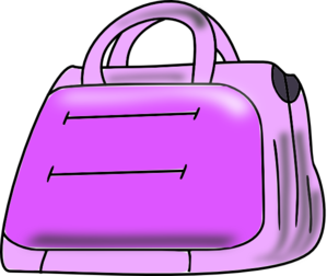 jpg black and white library Bags clipart purple bag. Luggage free on dumielauxepices.