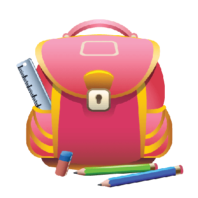 svg free stock Luggage clipart kawaii. Backpack pencil free on.