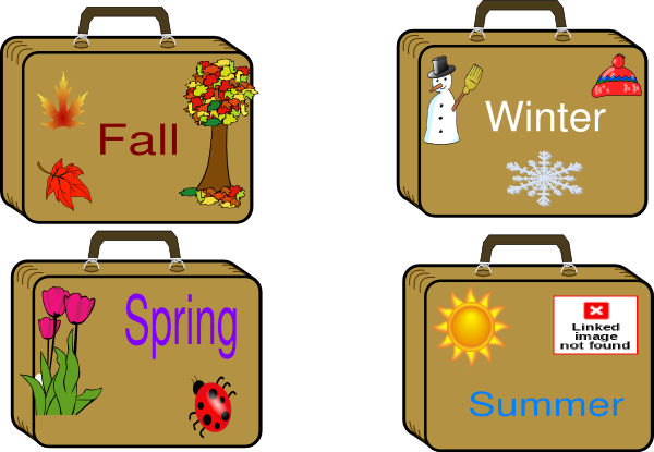 png library library Season suitcases clip art. Luggage clipart summer.