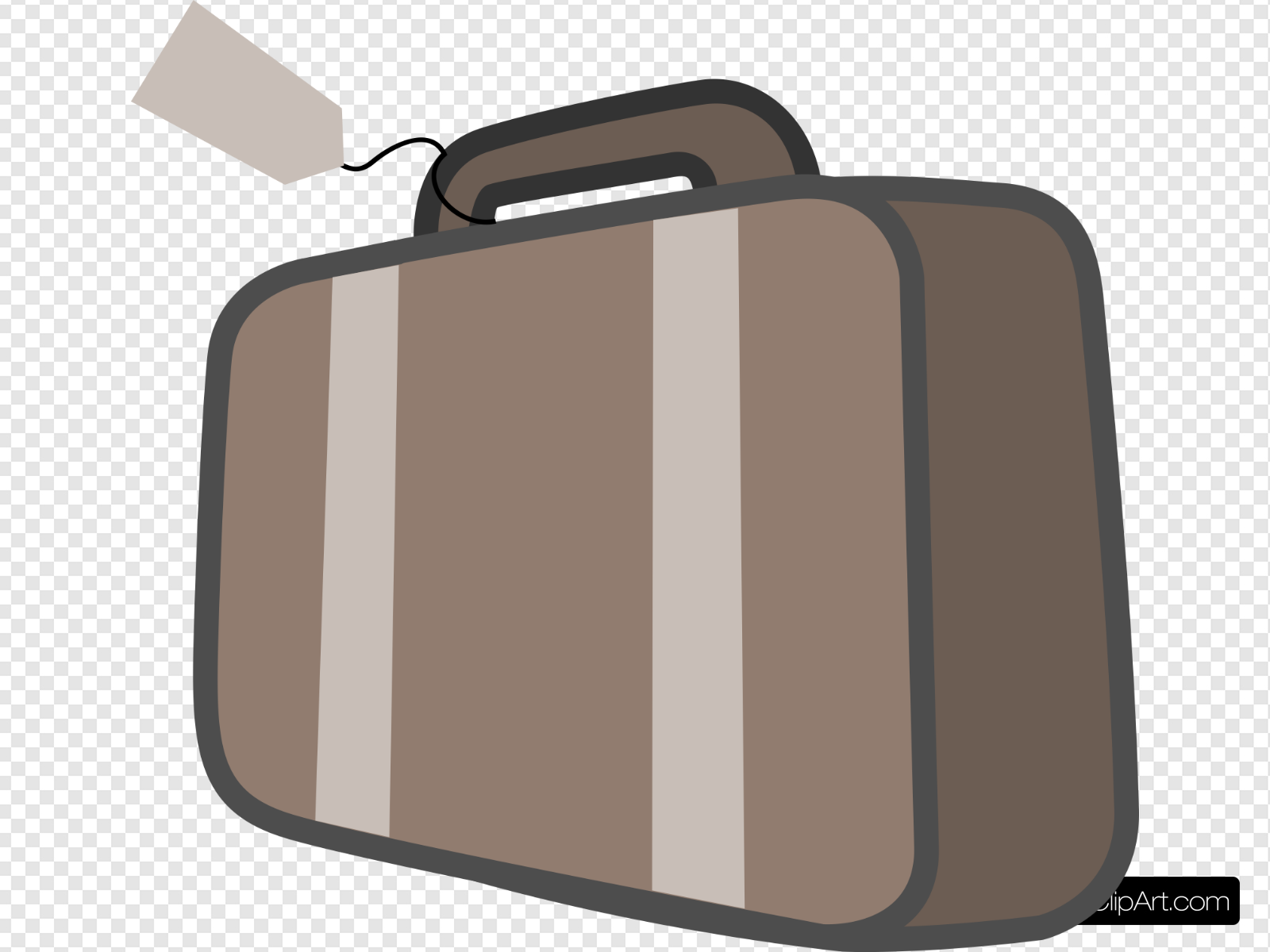 banner royalty free stock Bag travel clip art. Luggage clipart svg