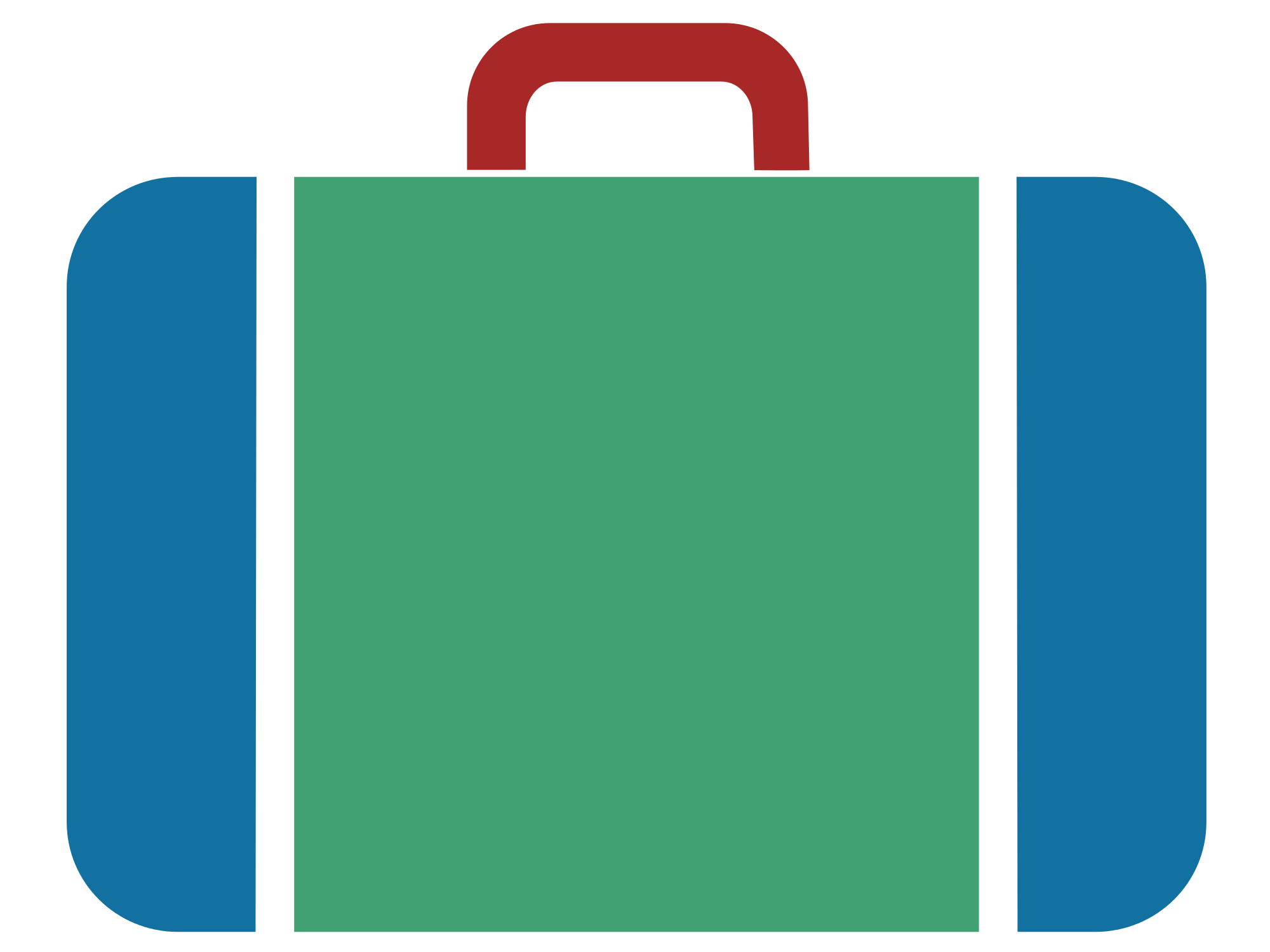clip library stock Luggage clipart svg. File suitcase icon blue