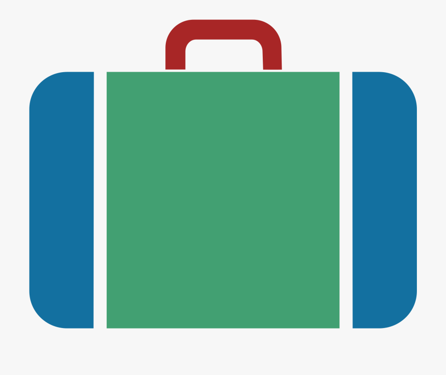 clip art royalty free library Suitcase icon free cliparts. Luggage clipart svg