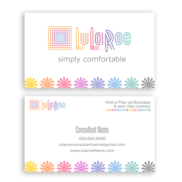 picture freeuse library LuLaRoe Business Card