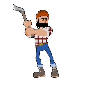 png transparent Lumberjack clipart.  collection of png