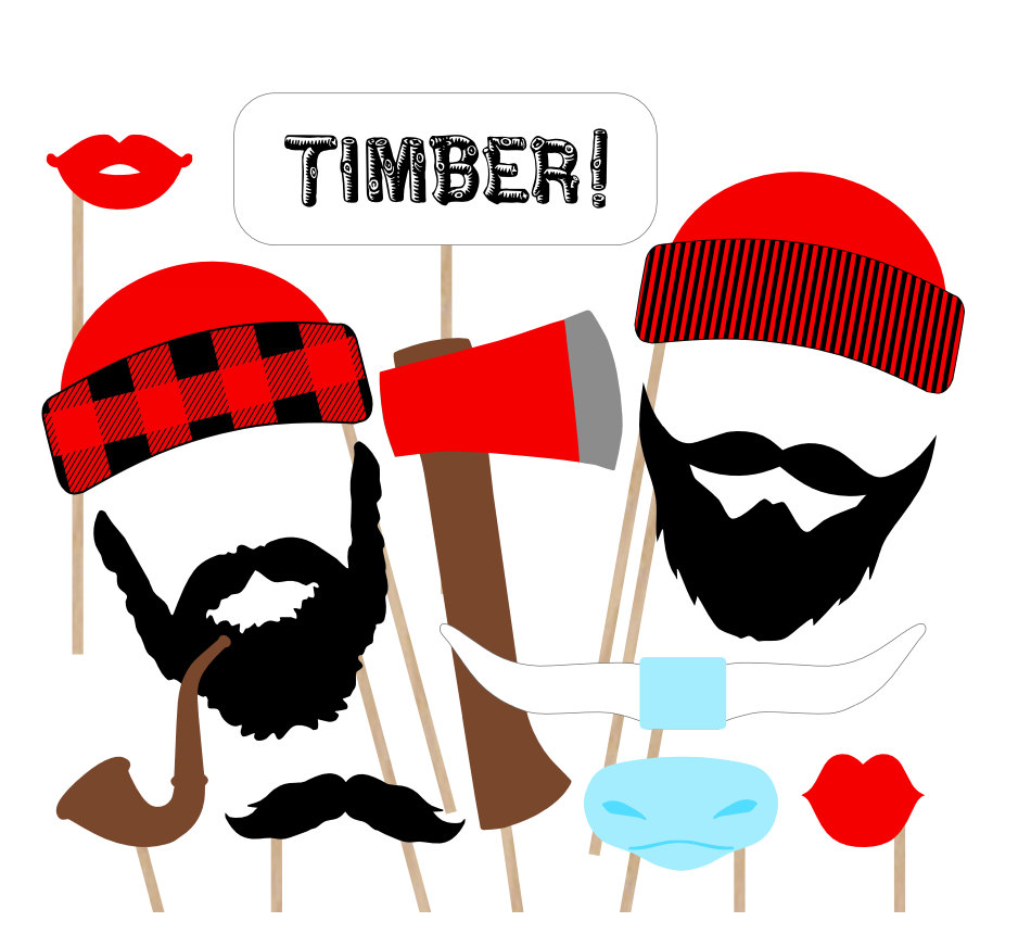 banner freeuse stock Beard clipart lumberjack. Collection of free dowelling