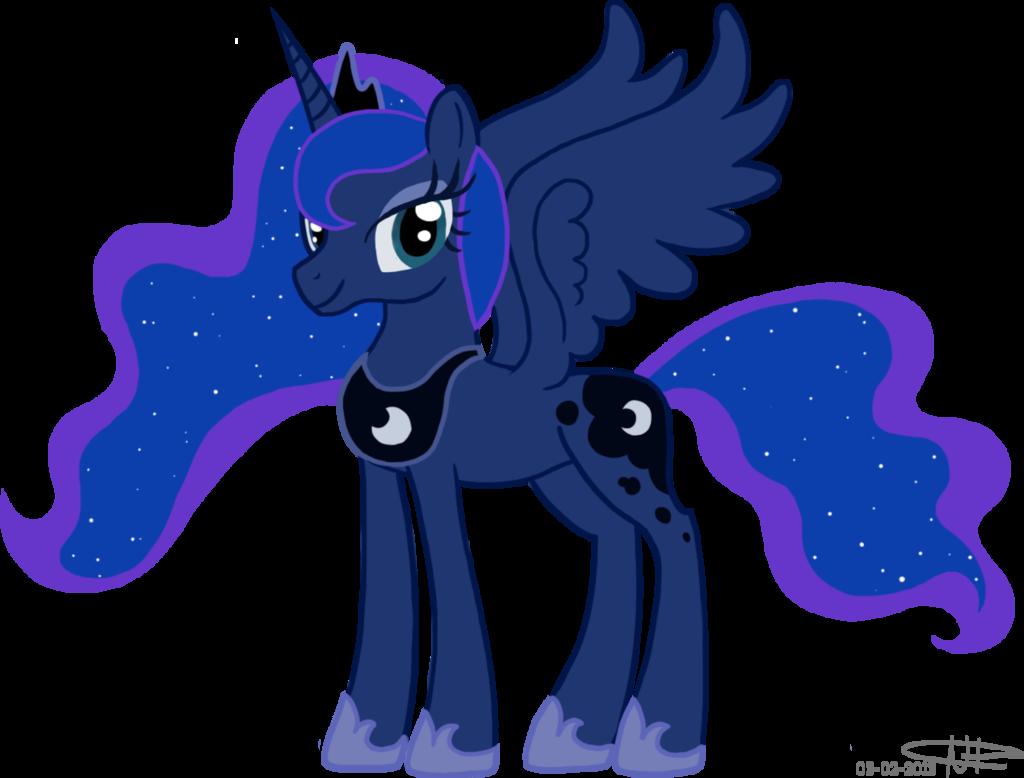 free Princess Luna Drawing at GetDrawings