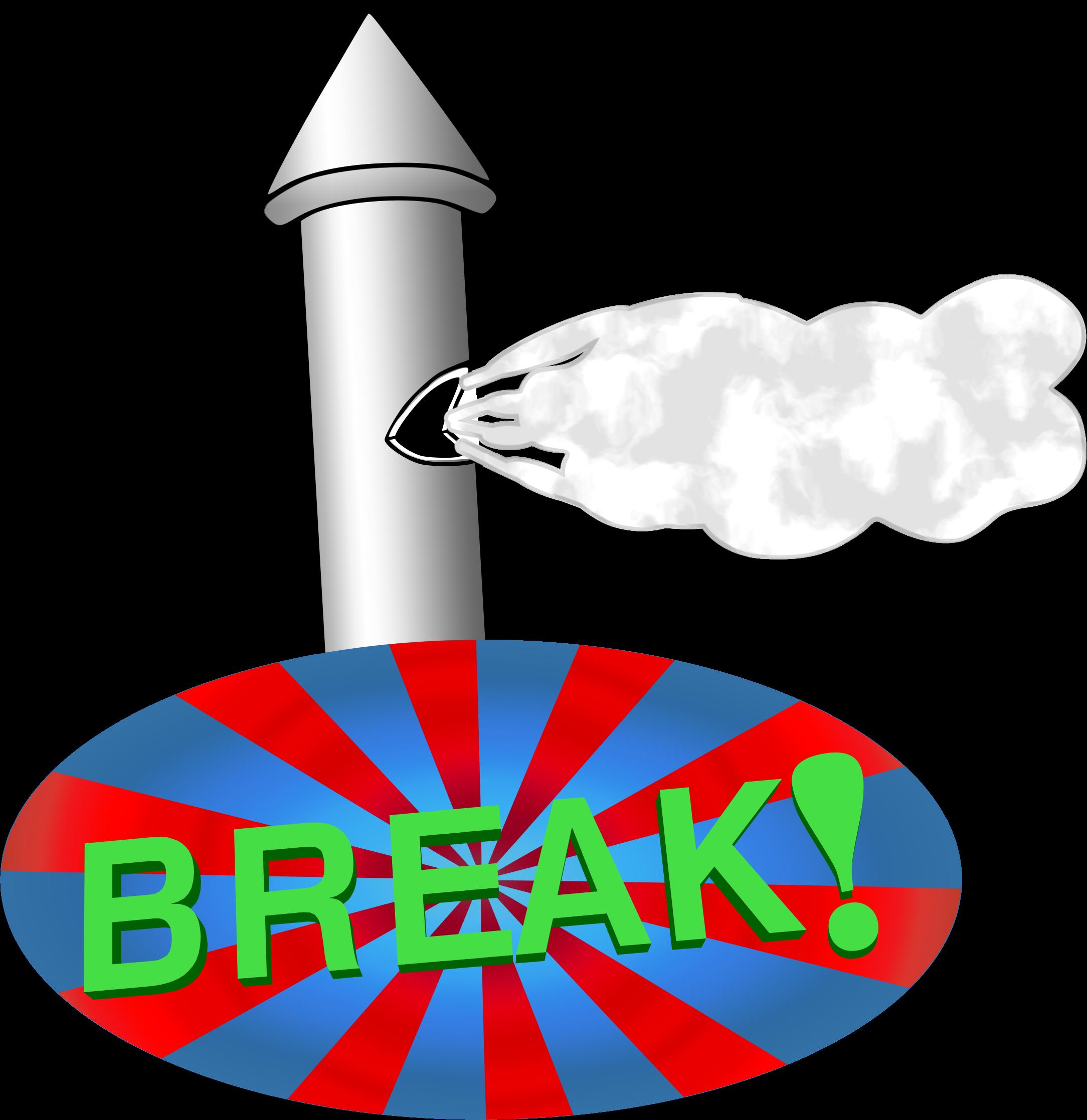 svg freeuse stock Break time big image. Lunch clipart breaktime.