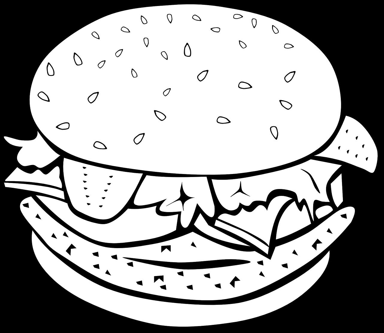 png royalty free library Sandwich hamburger fish free. Vector burger chicken