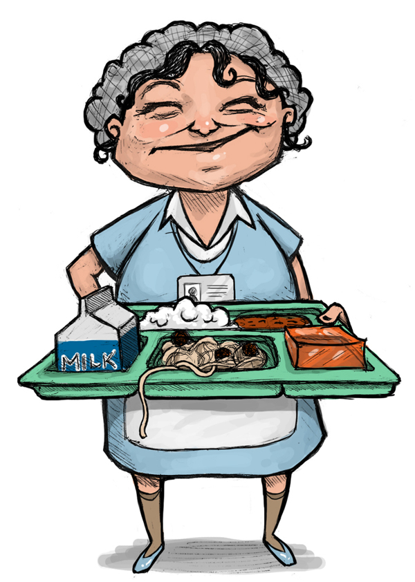 vector royalty free library Free pictures download clip. Lunch lady clipart.