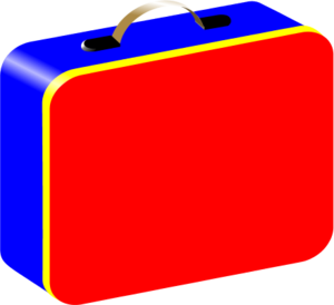 jpg royalty free library Box bagged free on. Lunchbox clipart sack lunch