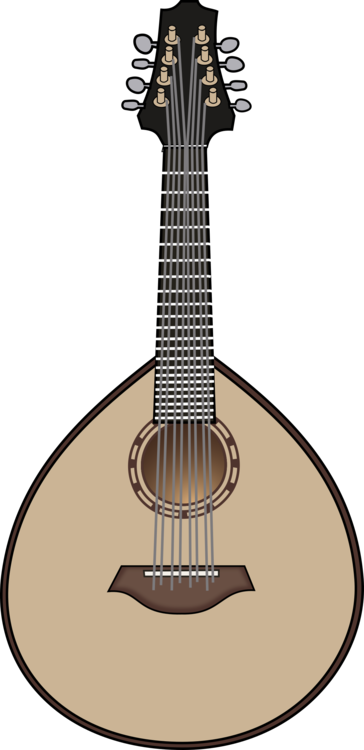 clipart royalty free Mandolin musical instruments string. Lute drawing.