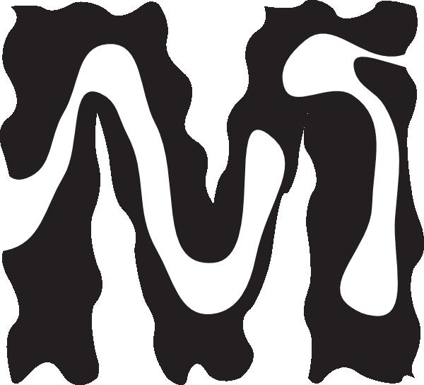 picture Letter M Zebra Style Clip Art at Clker
