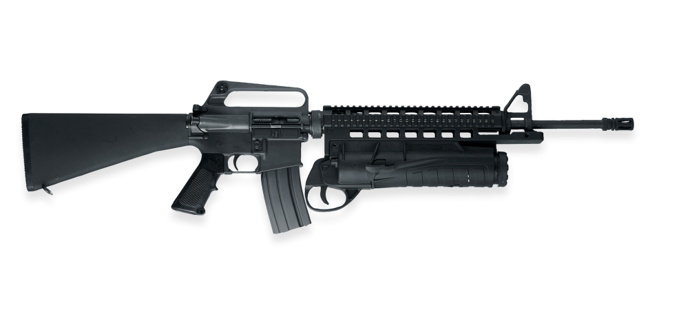 clipart freeuse Glx a grenade launcher. Vector 10mm drum