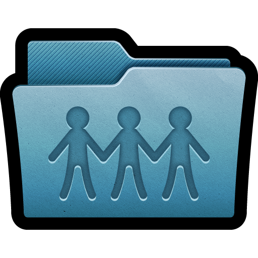 clipart freeuse stock Blue folder sharepoint icon. Mac clipart coputer.