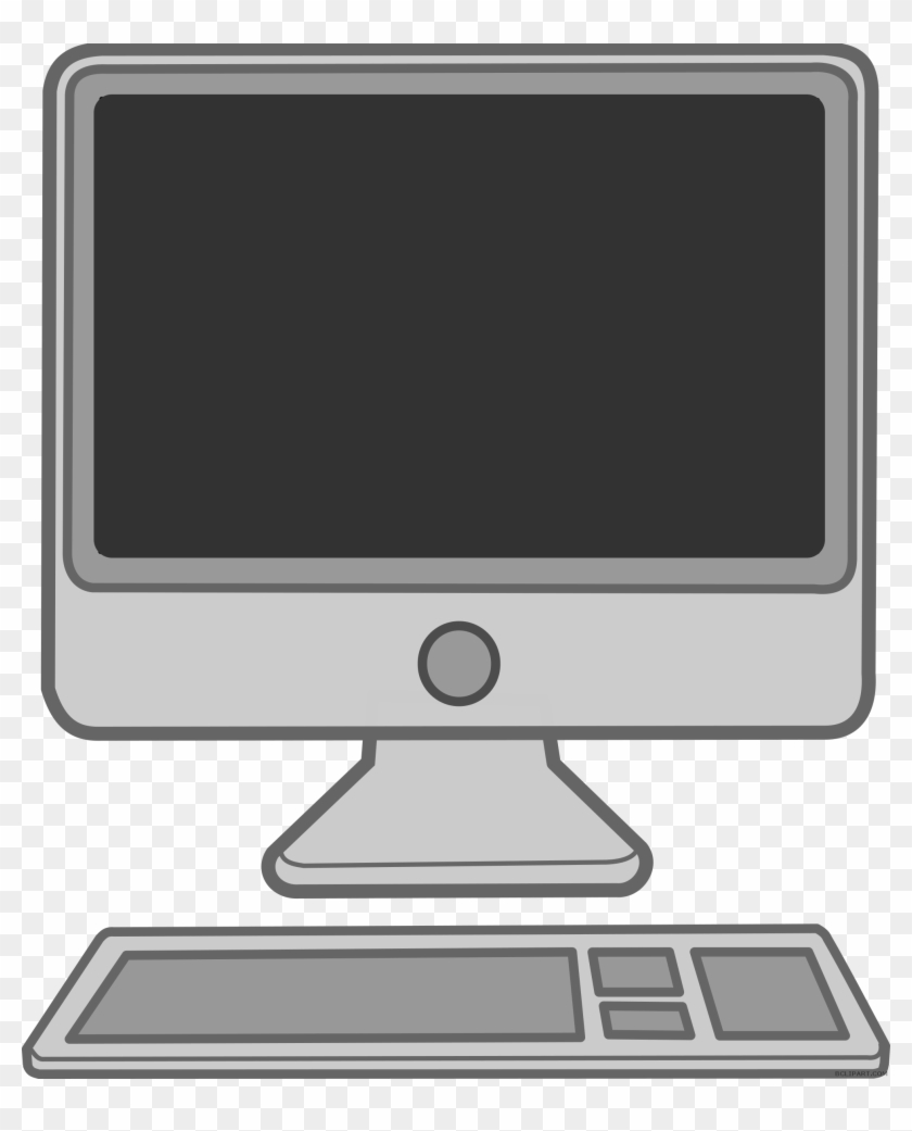 svg transparent library  collection of computer. Mac clipart coputer.