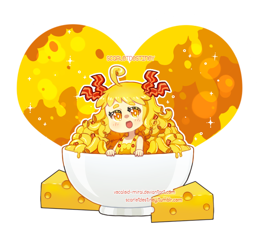 vector transparent download Bacon Mac N Cheese by ScarletDestiney on DeviantArt