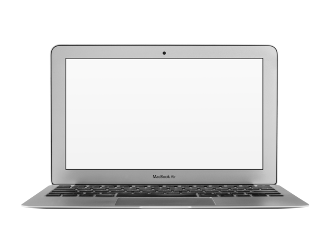 picture royalty free stock Placeit front view of. Macbook transparent.