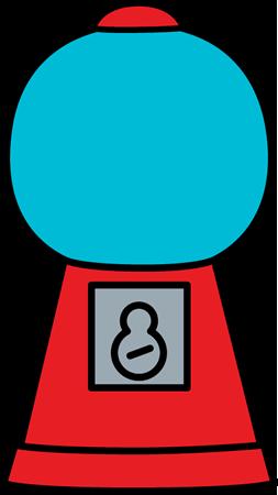 picture free stock Gumball machine clipart bubble gum. Empty clip art image