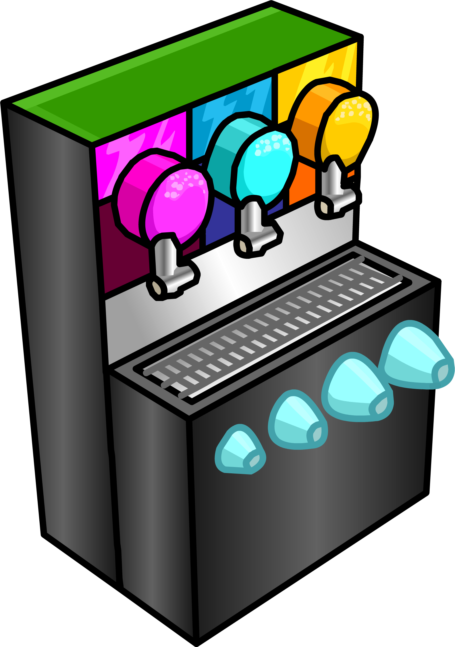 image library stock Machine clipart comic. Smoothie club penguin wiki.