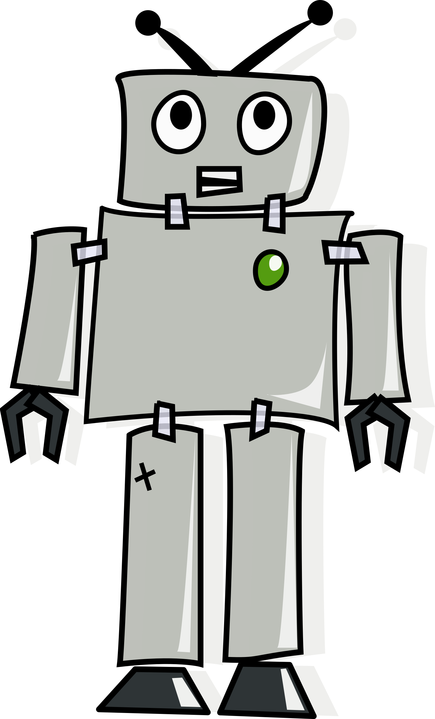 picture royalty free Cartoon robot big image. Machine clipart comic.