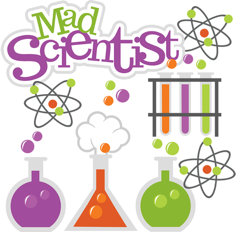 clip black and white library Science png transparent images. Mad scientist lab clipart