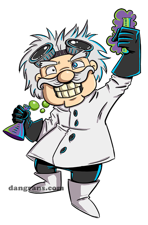 svg transparent download Cartoon images s by. Mad scientist lab clipart