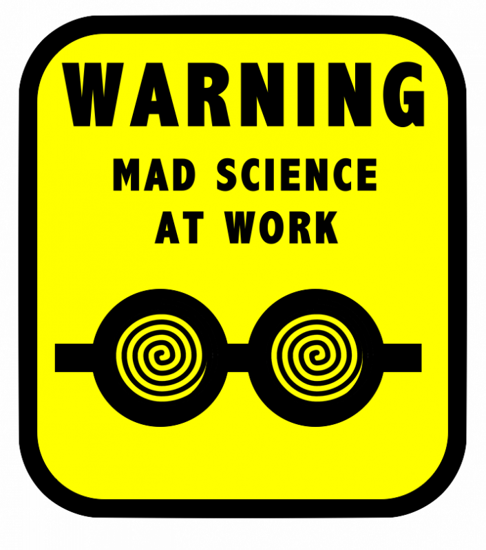 clip art library download Steam ahead club challenge. Mad scientist lab clipart